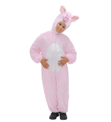 PLUSH PIG (hooded jumpsuit with mask) Childrens