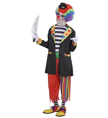 EVIL CLOWN (jacket shirt pants socks mini hat)