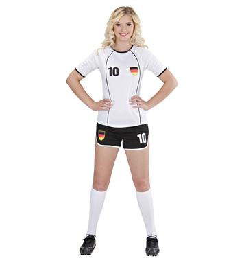 GERMANY SOCCER GIRL (shirt shorts)