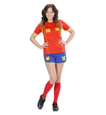 SPAIN SOCCER GIRL