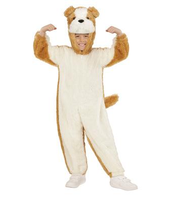 PLUSH DOG (hooded jumpsuit mask) Childrens