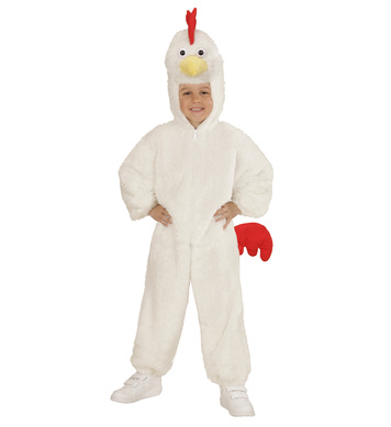 PLUSH CHICKEN (hooded jumpsuit mask) Childrens