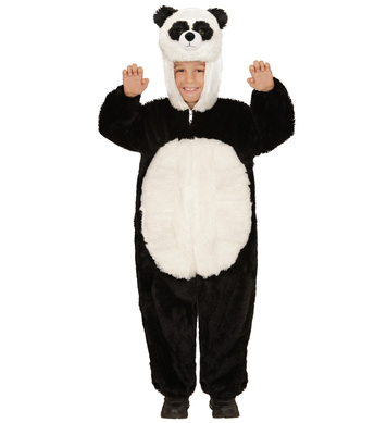 PLUSH PANDA (hooded jumpsuit mask) Childrens