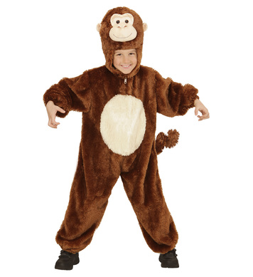 PLUSH MONKEY (hooded jumpsuit mask) Childrens
