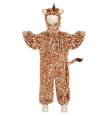 PLUSH GIRAFFE (hooded jumpsuit mask) Childrens
