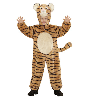 PLUSH TIGER (hooded jumpsuit mask) Childrens