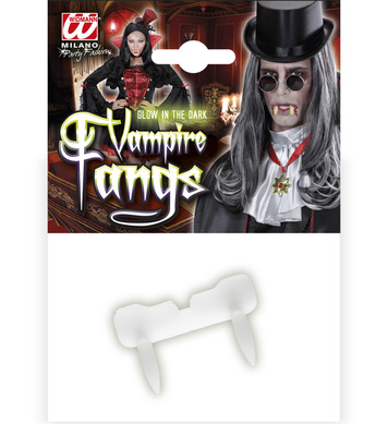 GLOW IN THE DARK VAMPIRE FANGS
