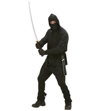 NINJA (hooded coat pants belt mask arm & leg ties)