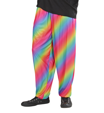 80s BAGGY PANTS - RAINBOW