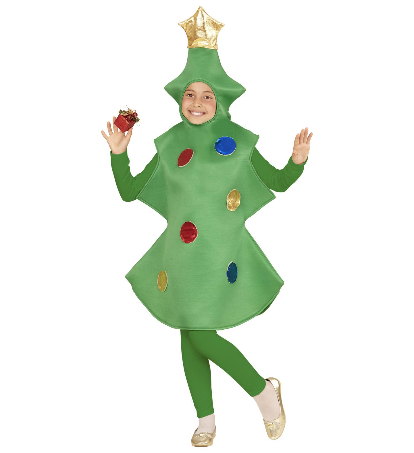 Childrens Christmas Tree Costume Christmas Fancy Dress