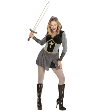 JOAN OF ARC (hooded dress arm bands)