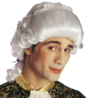 CHEVALIER WIG BOXED WHITE