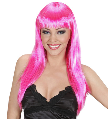 BEAUTIFUL WIG - HOT PINK