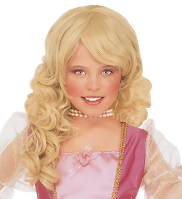 GLAMOUR WIG BLONDE - CHILD SIZE