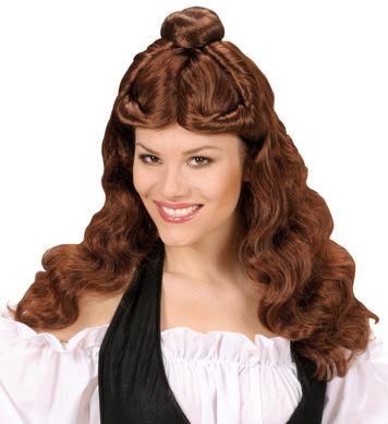 WESTERN BELLE WIG - BROWN