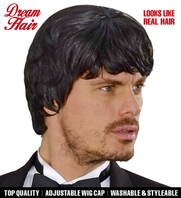 BLACK 60s MUSIC MAN DREAMHAIR WIG