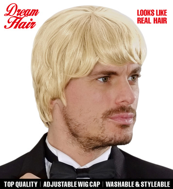 BLONDE 60s MUSIC MAN DREAMHAIR WIG