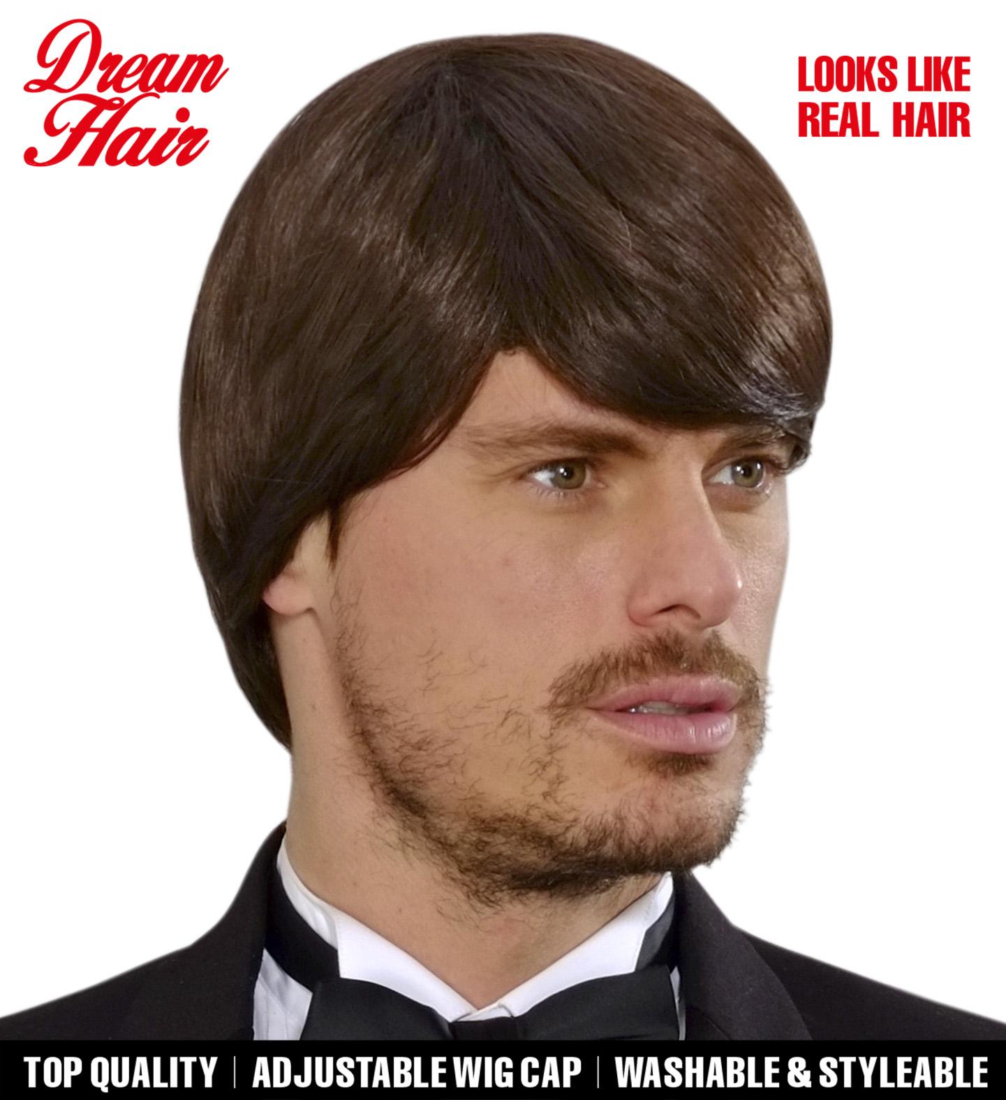 Brown Simon Dreamhair Wig Fancy Dress