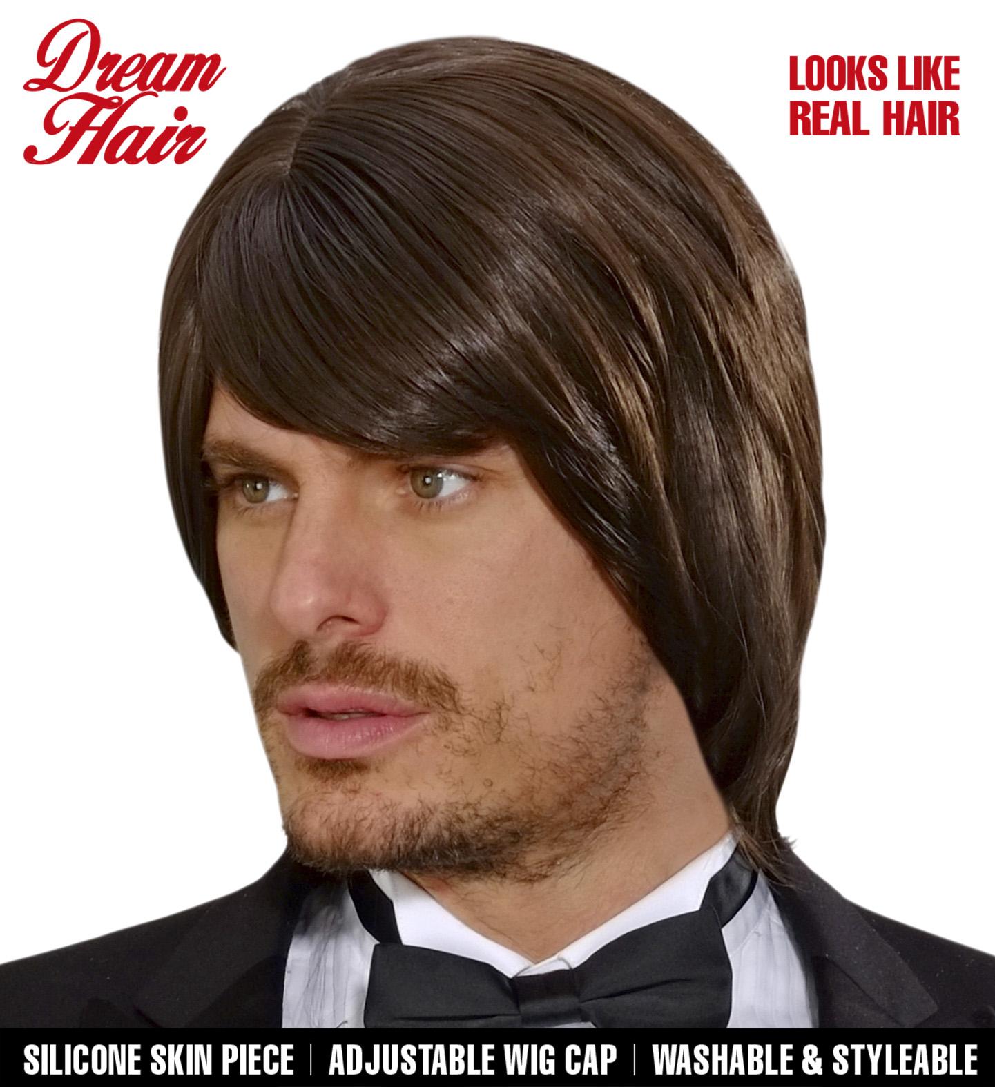 Brown Bjorn Dreamhair Wig Fancy Dress