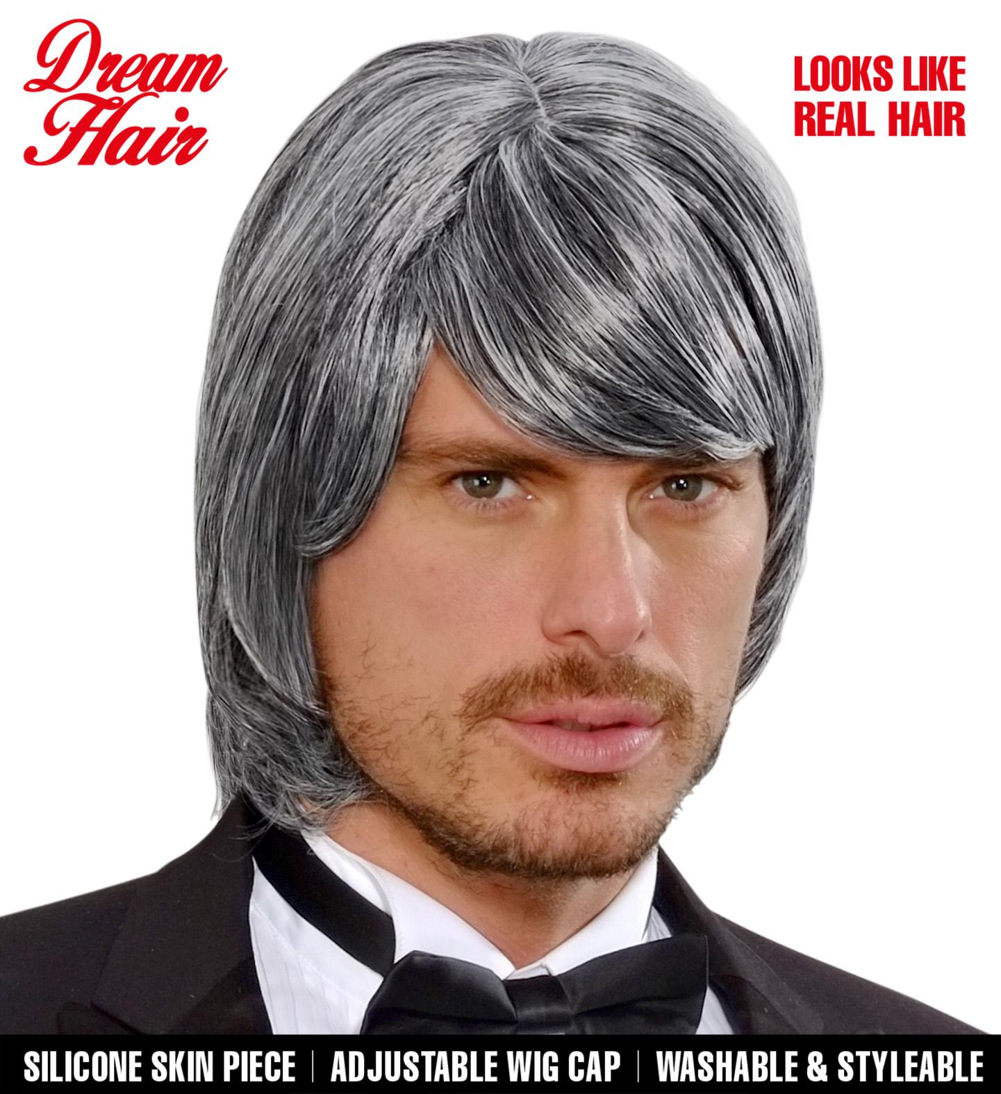 Grey Bjorn Dreamhair Wig Fancy Dress