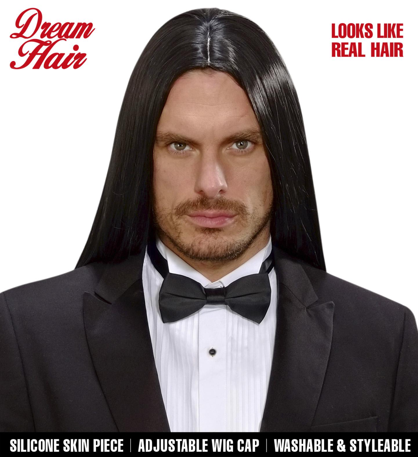 Black Victor Dreamhair Wig Fancy Dress