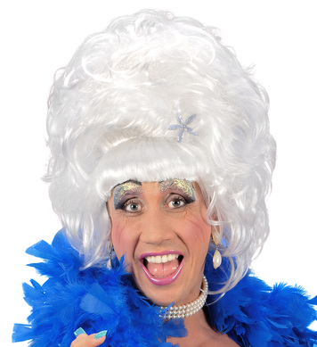 DRAG QUEEN WIG  WHITE