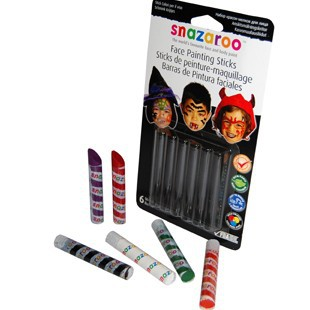 FACE PAINTING STICKS HALLOWEEN