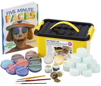 FACE PAINTERS KIT - 28 PIECES