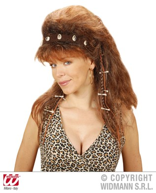 CAVEWOMAN WIG BROWN