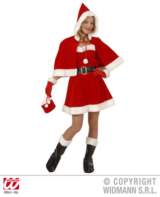 MISS SANTA DRESS PROFESSIONAL QUALITY M