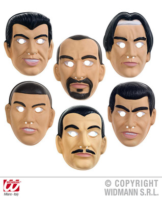 BOY BAND MASK- 6 styles