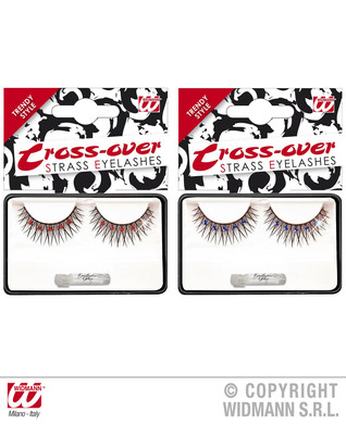 EYELASHES BLACK CROSS OVER - 2 colours