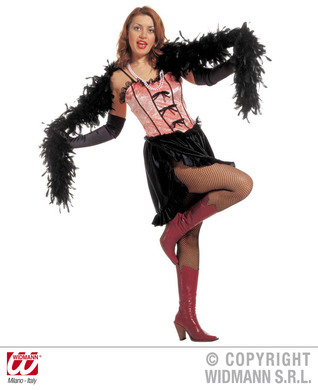 SALOON GIRL COSTUME M (dress)