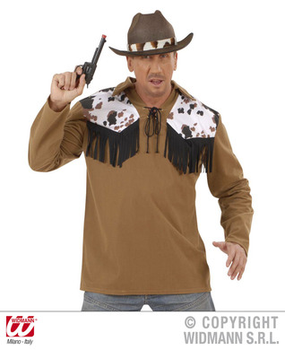 COWBOY SHIRT - BROWN