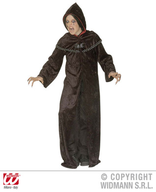 DARK TEMPLAR ROBE COSTUME (hooded robe w/tippet) Childrens