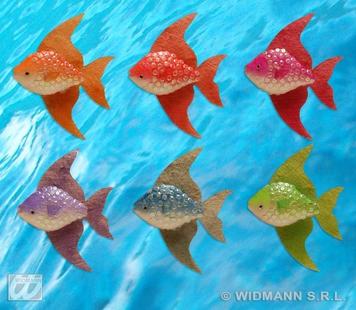 MEDIUM FISH 13X16cm - 6 colours