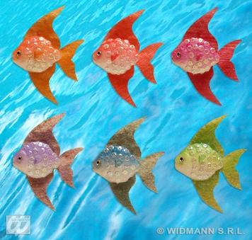 FISH SET 2 90X115mm - 6 colours