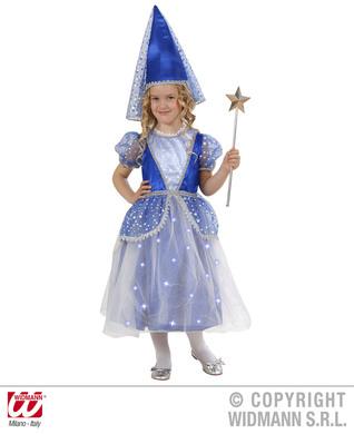 FAIRY COSTUME (110cm/116cm) (dress light up skirt hat)