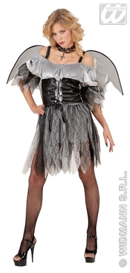 DERELICT ANGEL COSTUME (dress w/corset wings)