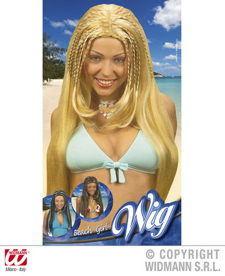 BEACH GIRL WIG brown with ginger only