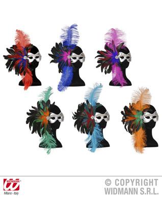 EYEMASK FIDELIO METAL FEATHER - 6 colours