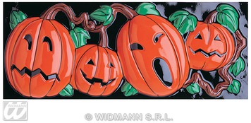 GID 3D PUMPKIN DECORATION HORIZONTAL