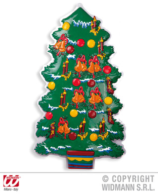 3D CHRISTMAS TREE DEC 100cm