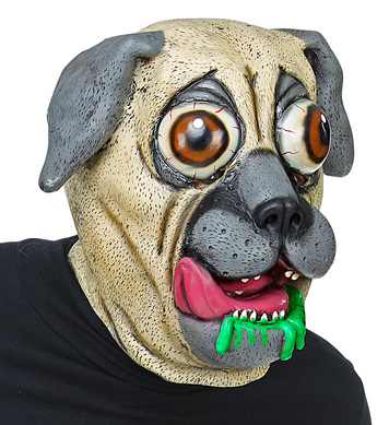 BIG EYES DOG FULL HEAD MASK