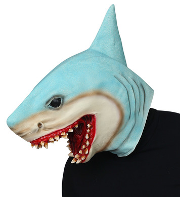 KILLER SHARK FULL HEAD MASK