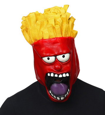 FRENCH FRIES FULL HEAD MASK