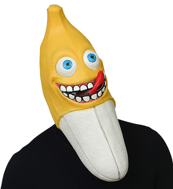 OVERSIZED BANANA FULL HEAD MASK