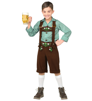 BAVARIAN (shirt, lederhosen) Childrens