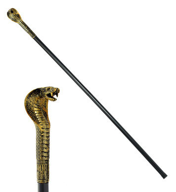 COLLAPSIBLE PHARAOH'S CANE 110cm
