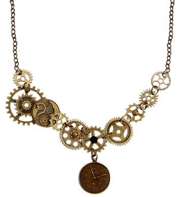 STEAMPUNK COG NECKLACE